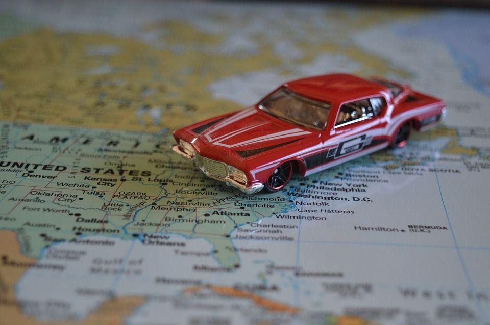 mapa samochodwa uk